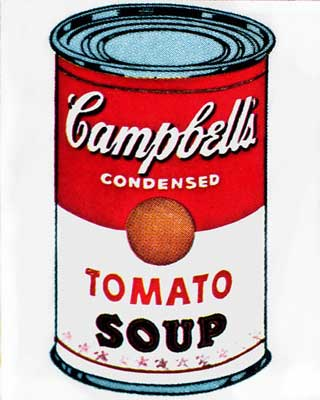 Andy Warhol's Campbell's soup can sold for .7 million at auction