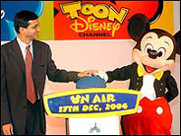 Disney wants to be part of India's Entertainment Industry