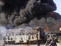Five Massive Bombs Kill at Least 39 in Baghdad