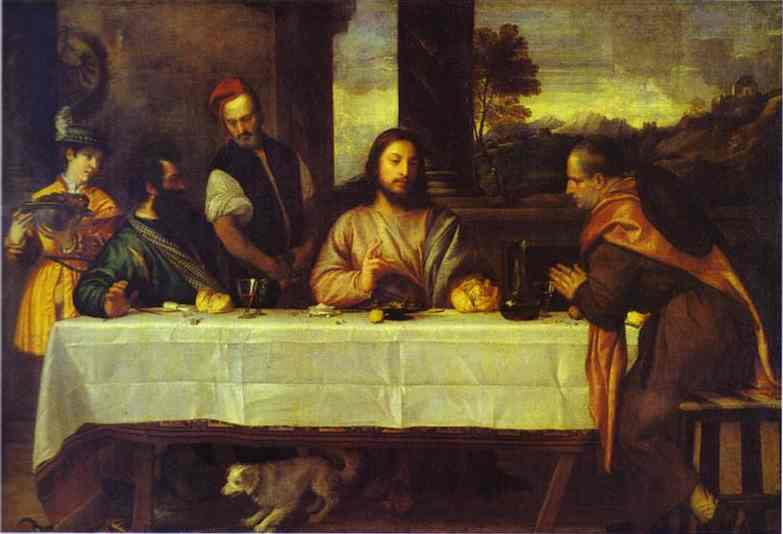 Supper At Emmaus, one of the masterpieces by Ttian, returns home