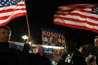Russia tries to block Kosovo's independence