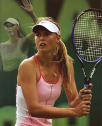 Maria Sharapova Wins at Stanford