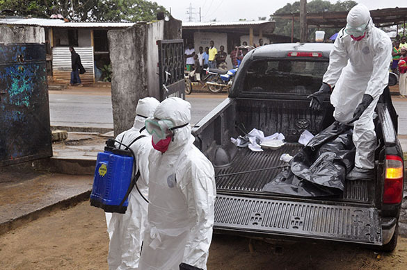 US tests GM Ebola vaccine on humans. Ebola