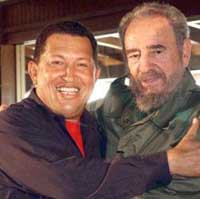 Venezuela's Chavez says Castro asked him to keep secret recent phone call