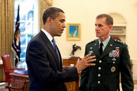 Obama Talks to Stanley McChrystal Aboard Air Force One: No Details Reported