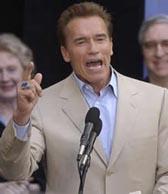 Democratic rival's campaign admits downloading Schwarzenegger tape