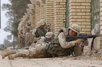 U.S. troops clash with insurgents in Ramadi