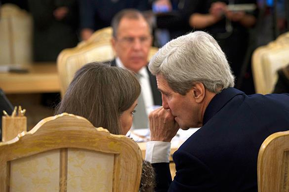 John Kerry's visit to Moscow: A political stunt. John Kerry in Moscow