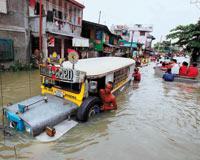 Typhoon Parma hits Philippine coast