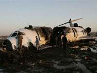 Plane crashes in Turkey, 57 dead