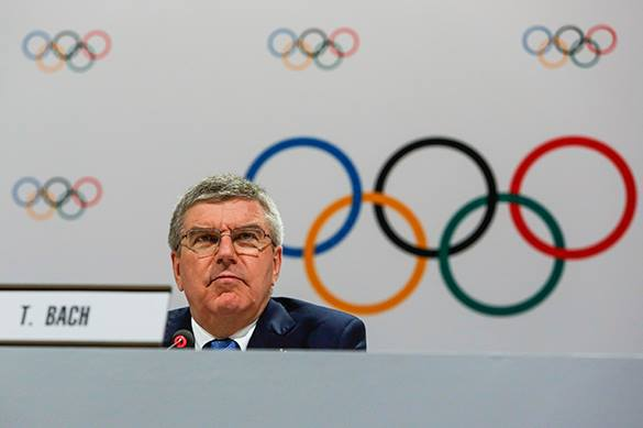 International Olympic Committee admits Crimea is Russian region. Thomas Bach