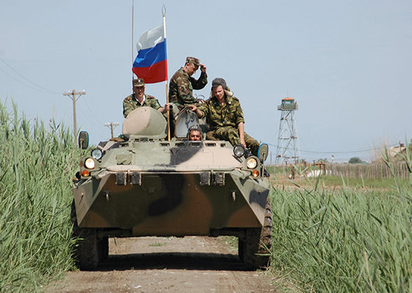 Putin approves army deal with Georgia's South Ossetia