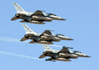 American air forces train Arab pilots for war with Iran