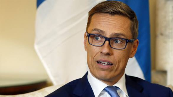 Anti-NATO parties win elections in Finland. PM concedes. Alexander Stubb