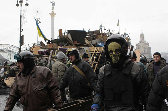 West sweeps fascists to power in Ukraine. Ukraine