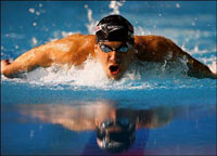 Michael Phelps Loses 200-free
