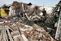 Quake Landslides Wipe out 3 Villages in Indonesia