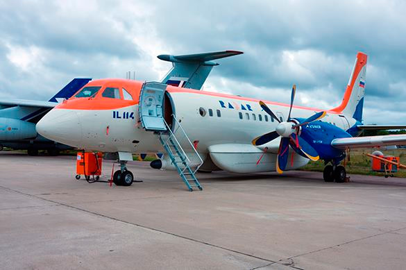 Russia's new IL-114 aircraft, totally of domestic production, to take off in 2019. 58964.jpeg