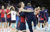 USA obtains its first Olympic volleyball medal since 1992