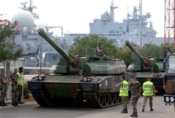 bln-worth French weaponry for Lebanon funded by Saudis. Lebanon