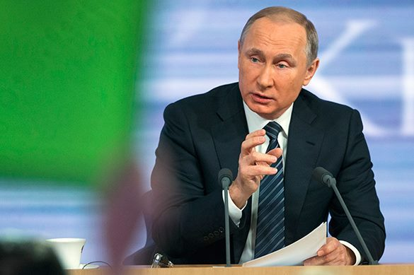 Putin: We will never let the USA control Russia. Vladimir Putin
