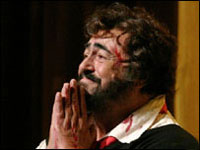 Luciano Pavarotti dies of pancreatic cancer at 71