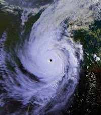 Tropical Cyclone Sidr kills 242 people in Bangladesh