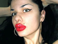 Russian woman makes world's largest lips to look like Jessica Rabbit. 45966.jpeg