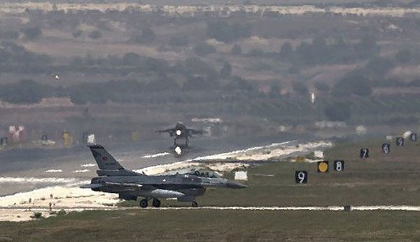 All US F-15 fighters leave Turkish airbase for unnamed reason. Incirlik Air Base