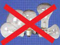 US federal government regulates light bulbs