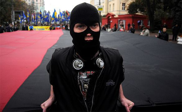 Ukrainian nationalists admit they kidnap people. Right Sector