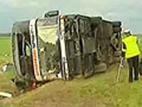 Bus with Austrian tourists crashes in southern Czech Republic