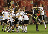 Germany beats Brazil winning Women's World Cup