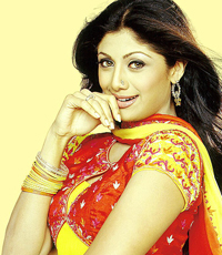 Indian actress Shilpa Shetty of 'Big Brother' fame begins work on yoga video