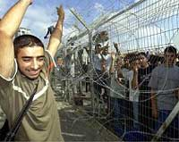 Israel releases 57 Palestinians