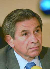 Group of Eight finance ministers to meet, as talk of Wolfowitz dominates