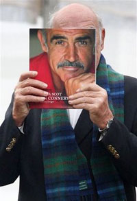 Sean Connery launches 'Being a Scot' on his 78th birthday