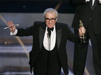 Martin Scorsese wins his first Oscar for 'The Departed'