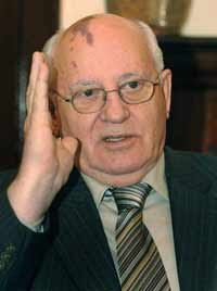 Mikhail Gorbachev: 'Every American president must wage war'