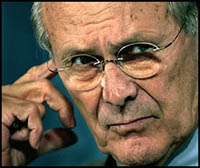 Group sues to have Rumsfeld and others investigated by Germany on war crimes charges
