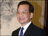 China: premier in Cape Town for talks