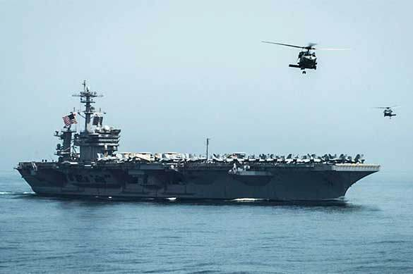 US Defense Department withdraws USS Theodore Roosevelt from Persian Gulf. USS Theodore Roosevelt