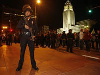 Police come into conflict with Occupiers in LA. 45982.jpeg