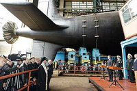 Russia passes into service 4th-generation K-560 sub, combat robots come next. 52982.jpeg