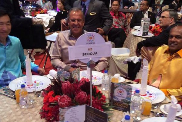 Russian FM Lavrov dines at ASEAN Forum as 'Seroja'. Sergei Lavrov as Seroja