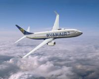 Europe's largest discount airline Ryanair Holdings PLC carried 21 percent more passengers in July