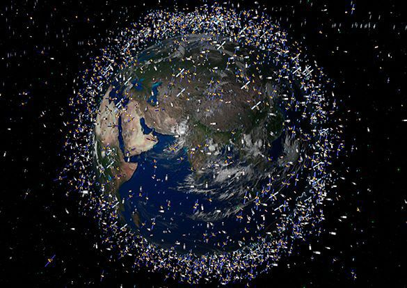 Japanese researchers to blast space debris. Universe