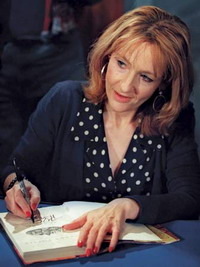 J.K. Rowling to auction her new book