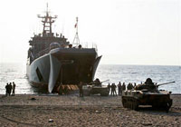 Russia deeply concerned about USA delivering devilish aid on warships to Georgian port