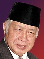 Corruption harges dropped against Suharto